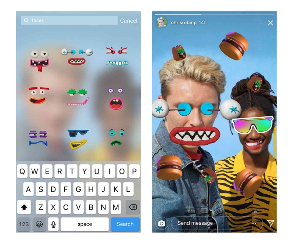 Instagram adds GIF stickers to 'Stories'