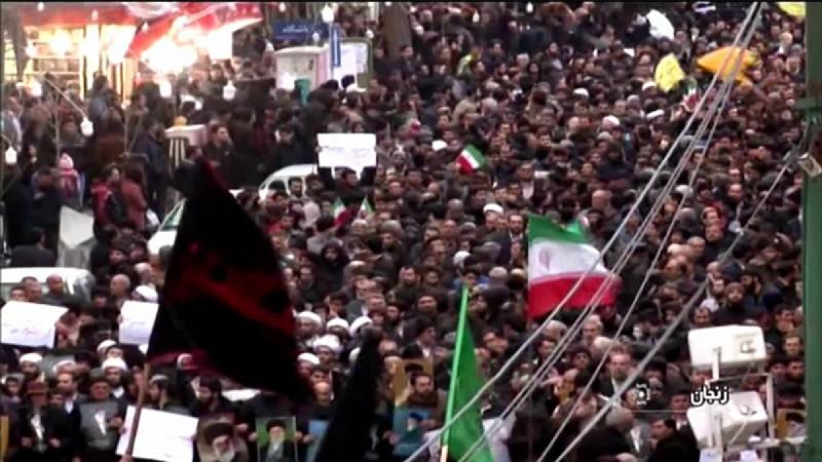 11 Dead in Iran protests, president Hassan Rouhani blames foreign powers