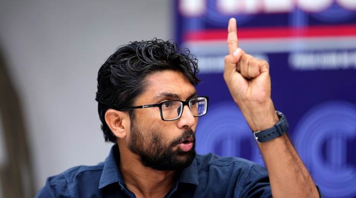 Heavy security deployed at Parliament Street ahead of Jignesh Mevani's 'Yuva Hunkar Rally'