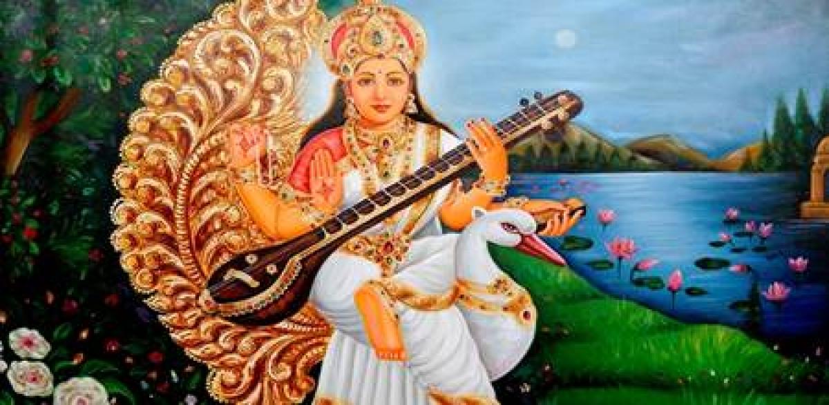 Ujjain: Goddess Saraswati worshipped on Basant Panchami