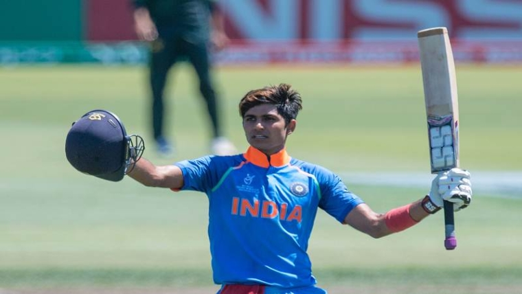 Indian Cricketer Shubman Gill