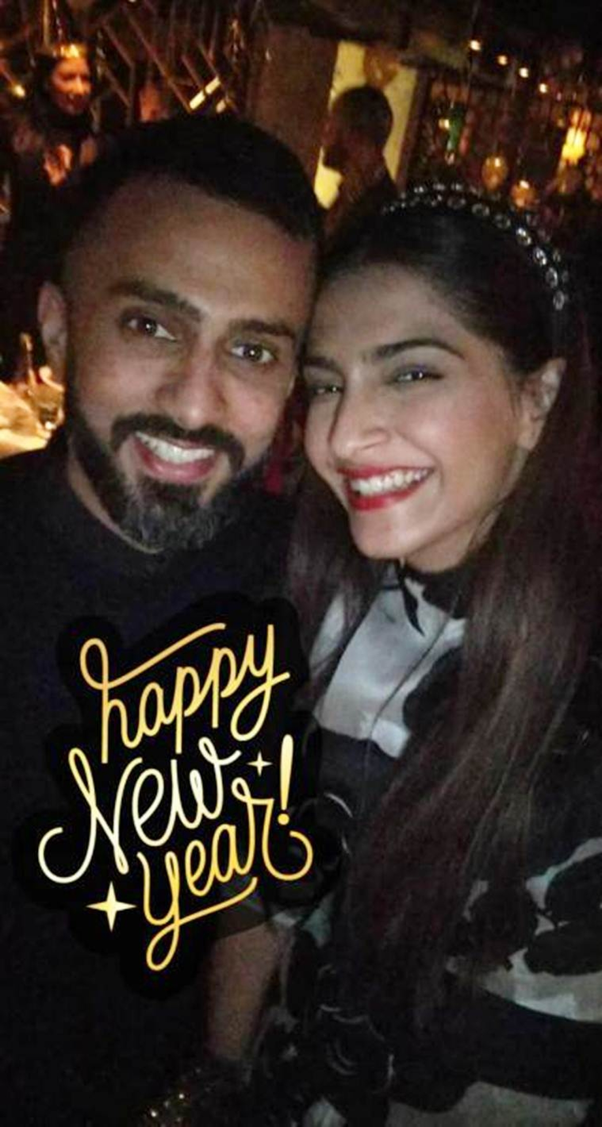 Wow! Sonam Kapoor and Anand Ahuja celebrate New Year together in Paris; see pics and video