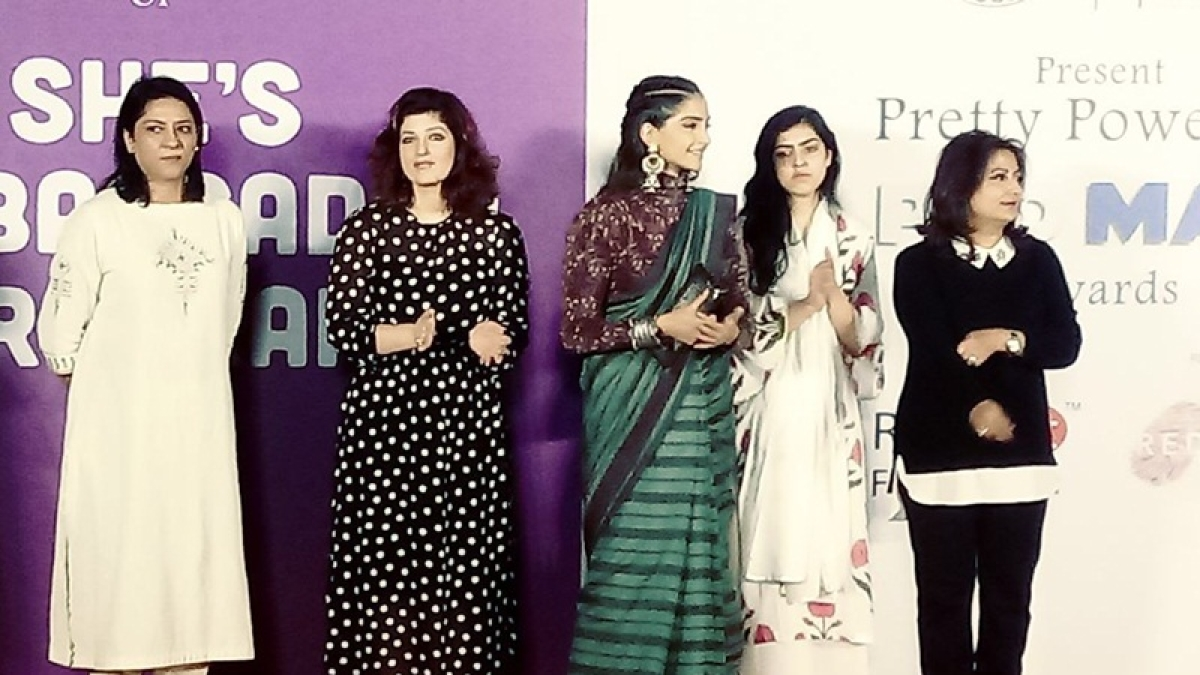 Pretty Powerful PadMan Award: Sonam Kapoor and Twinkle Khanna felicitate hygiene champions