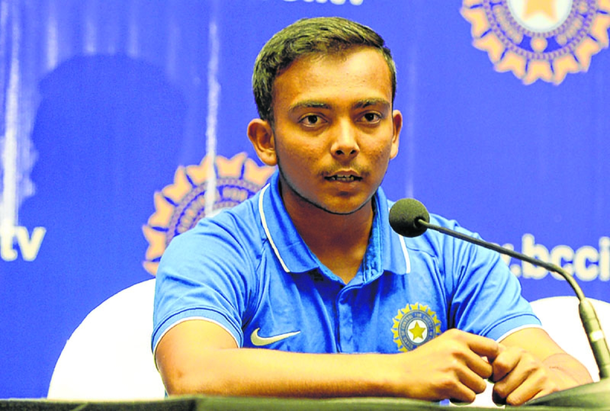 Shaw in Mumbai squad for Vijay Hazare Trophy knockout stage