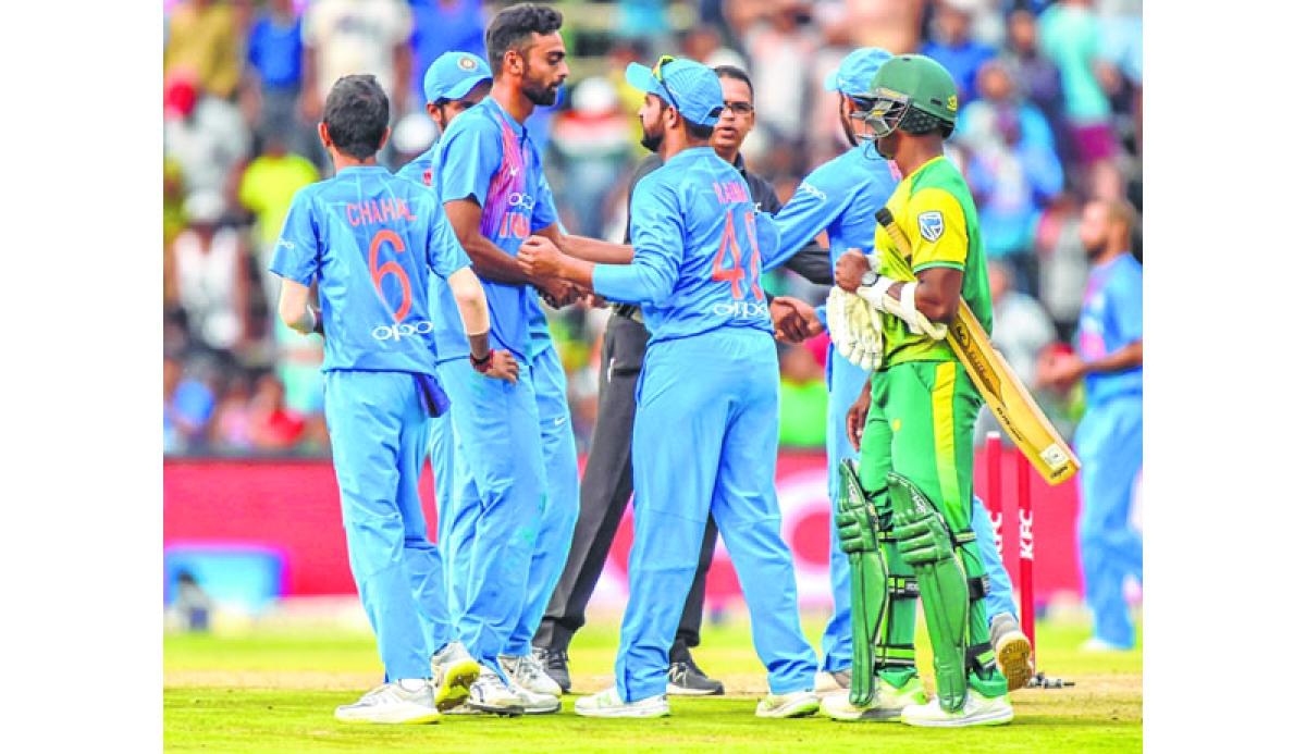 'Kohli & Co showed real potential in ODI series'