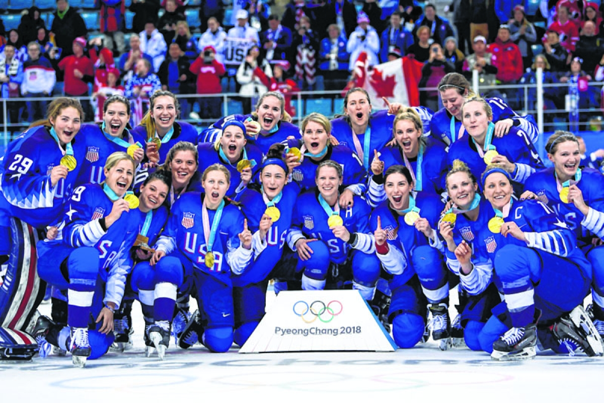 Hockey: US ends 20-year drought