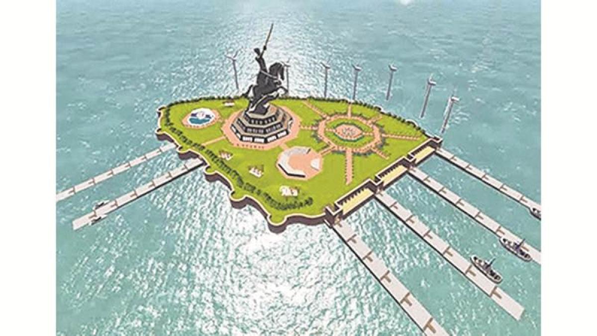 Height of Shivaji's statue: Don't be afraid of Modi, Shiv Sena tells Fadnavis