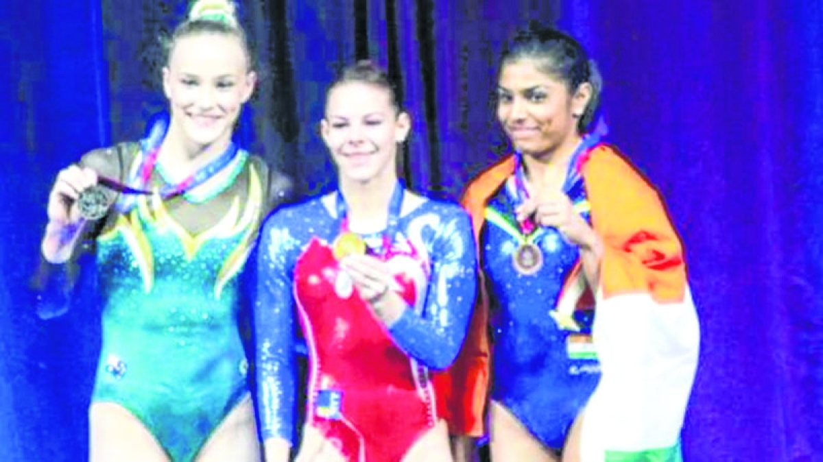 Gymnast Aruna is 1st Indian to win World Cup medal