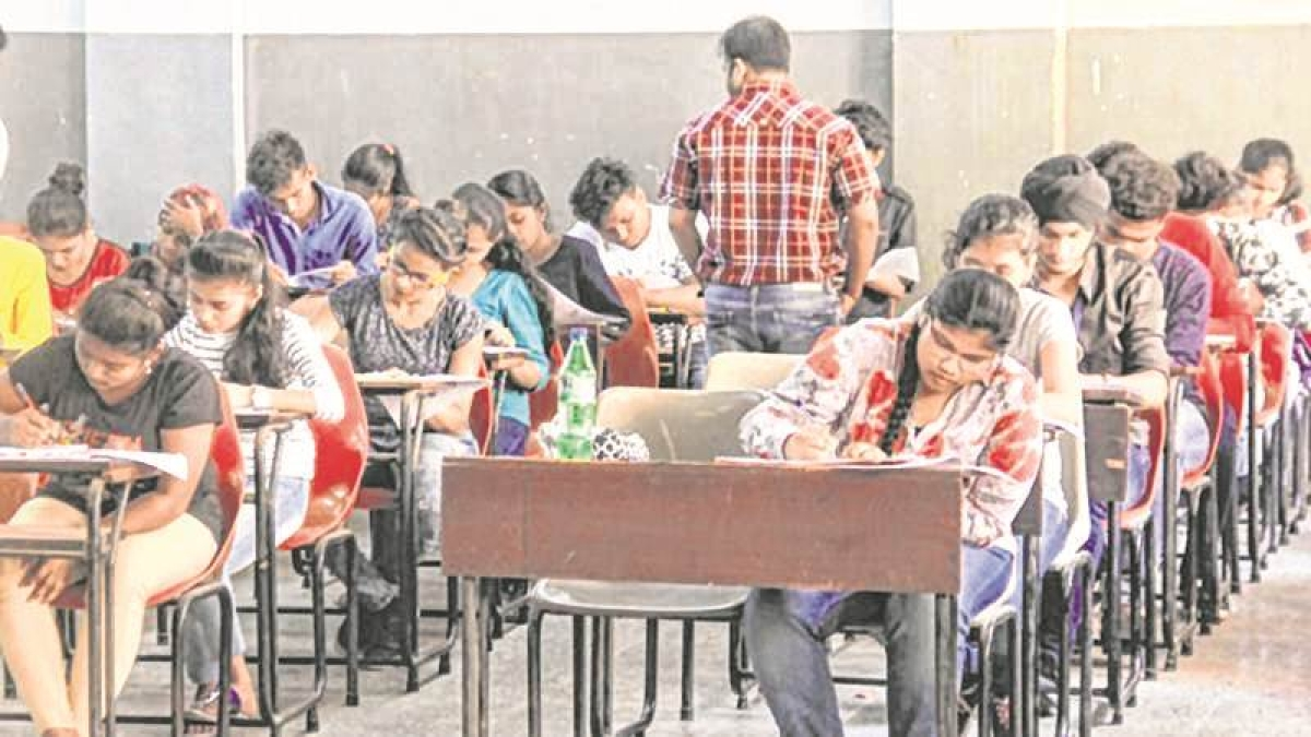 JEE-style multiple choice questions in board exams