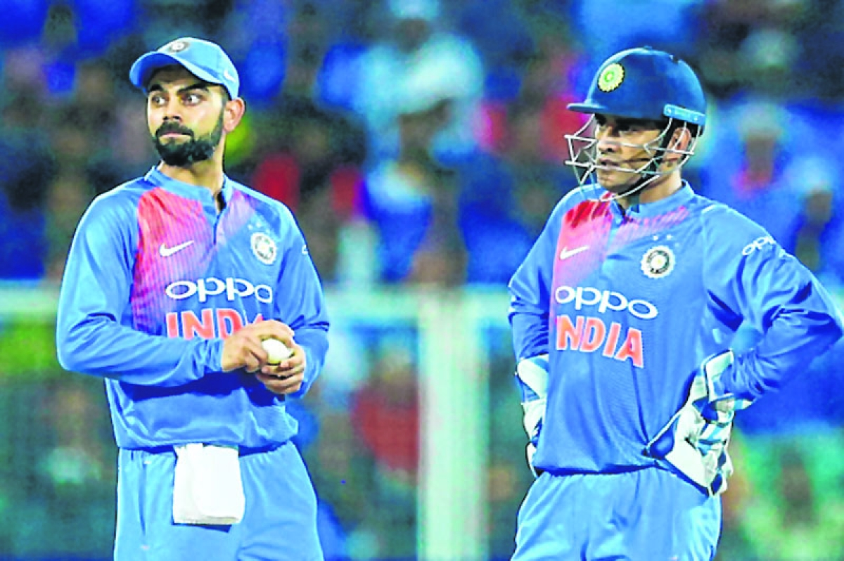 Virat Kohli thanks MS Dhoni for backing him as youngster