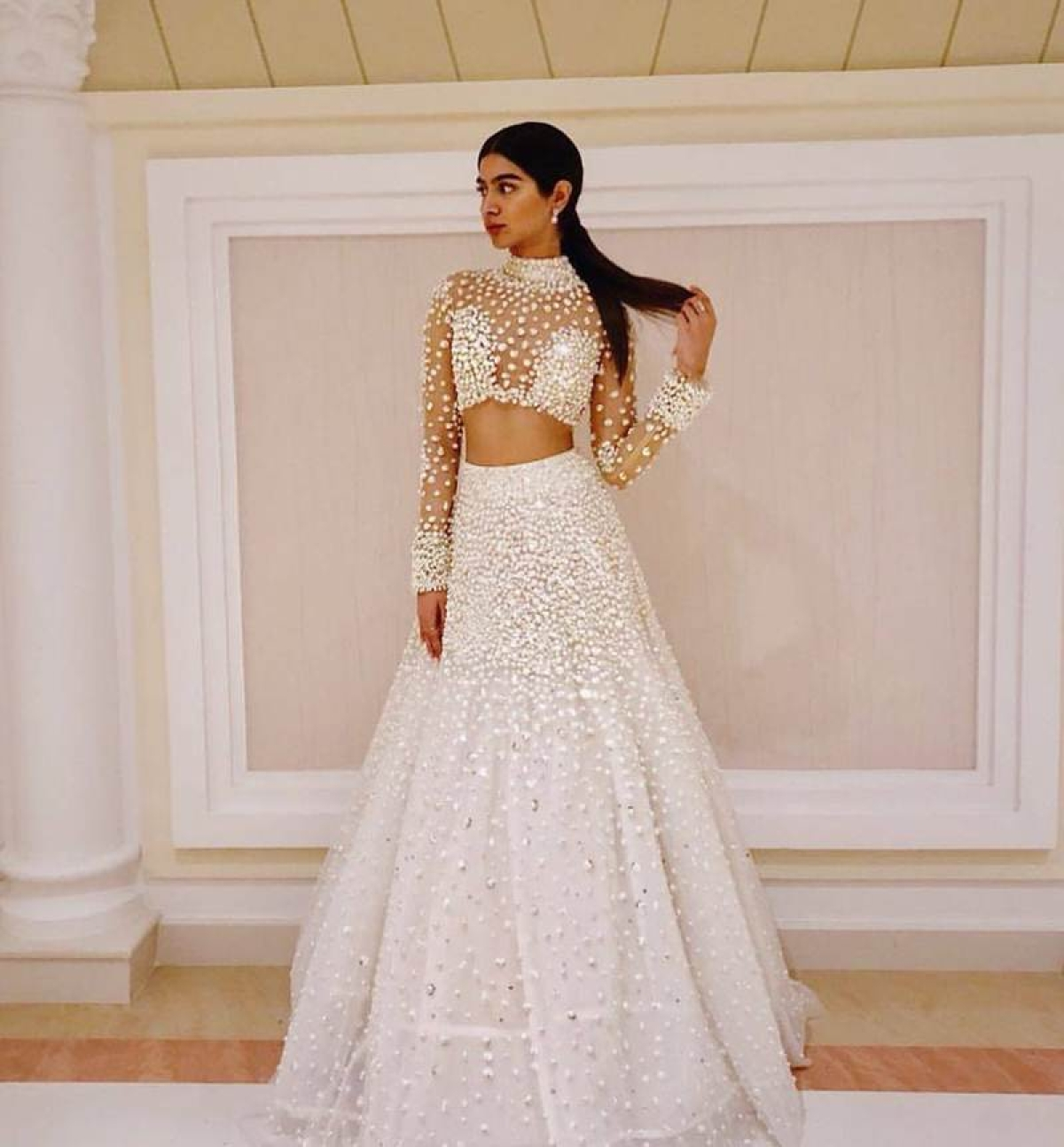 Sridevi's younger daughter Khushi Kapoor is a budding fashionista, see pics