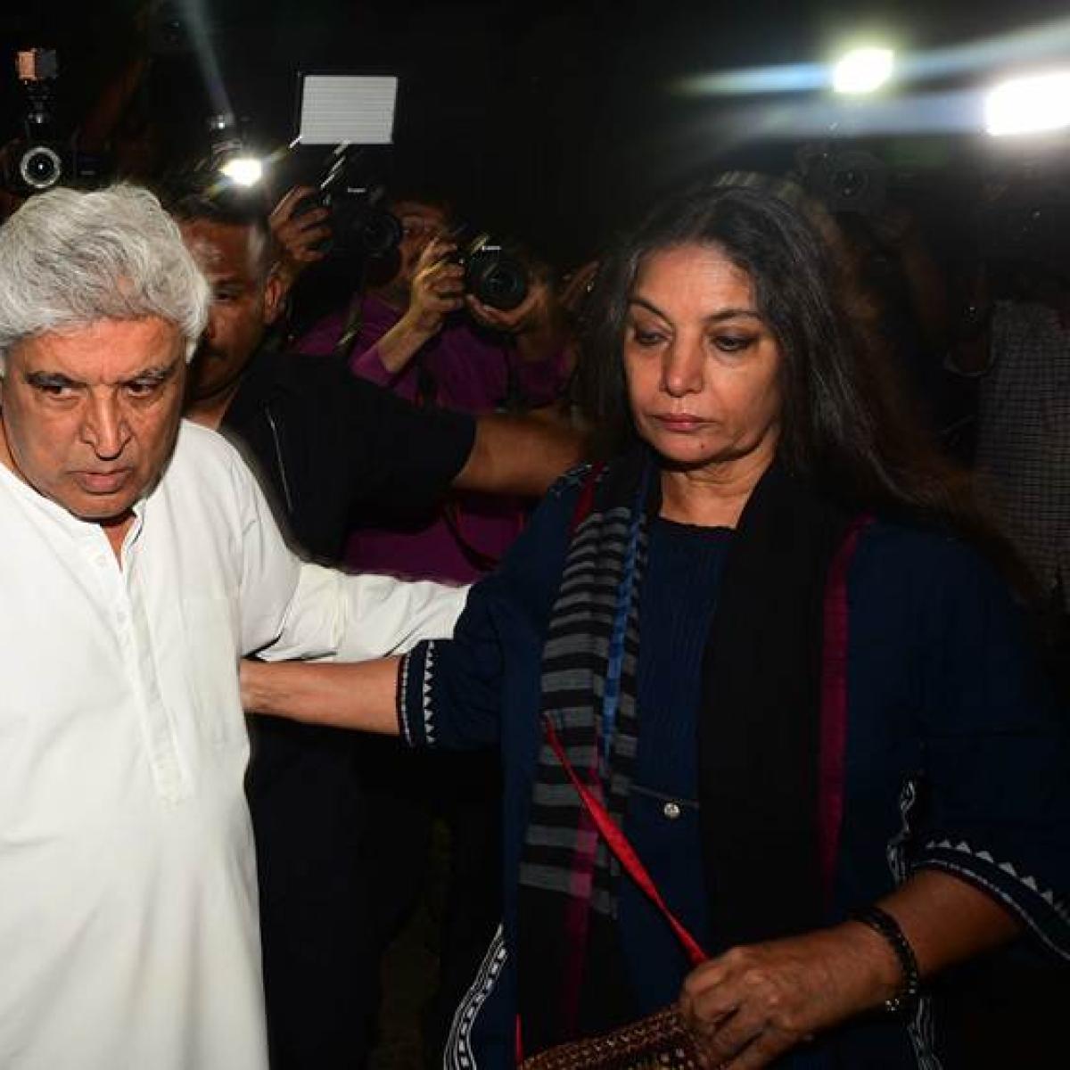 Javed Akhtar, Shabana Azmi condole victims of Cyclone Amphan, PIA crash