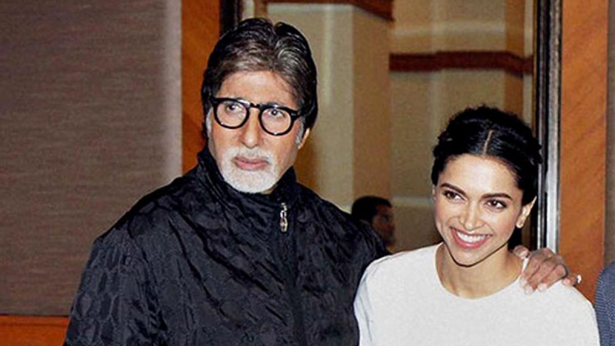Padmaavat actress Deepika Padukone receives a 'reward' from her onscreen 'baba' Amitabh Bachchan