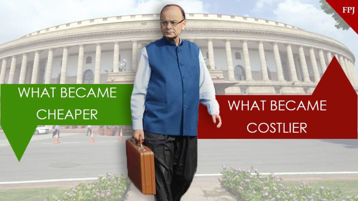 Budget 2018: Cigarette, mobile, gold get costlier; petrol, diesel get cheaper; here is the full list