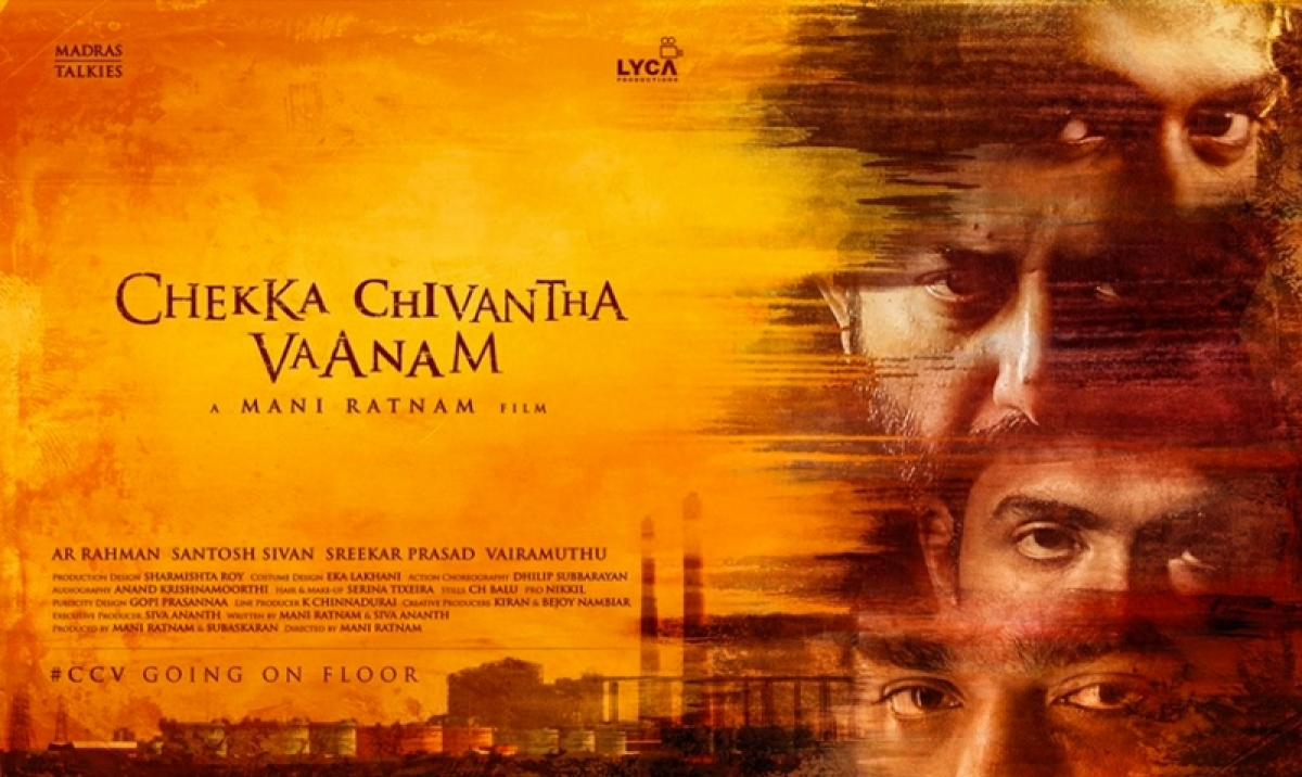 Chekka Chivantha Vaanam Poster: Mani Ratnam's next multi-starrer to begin from February 12