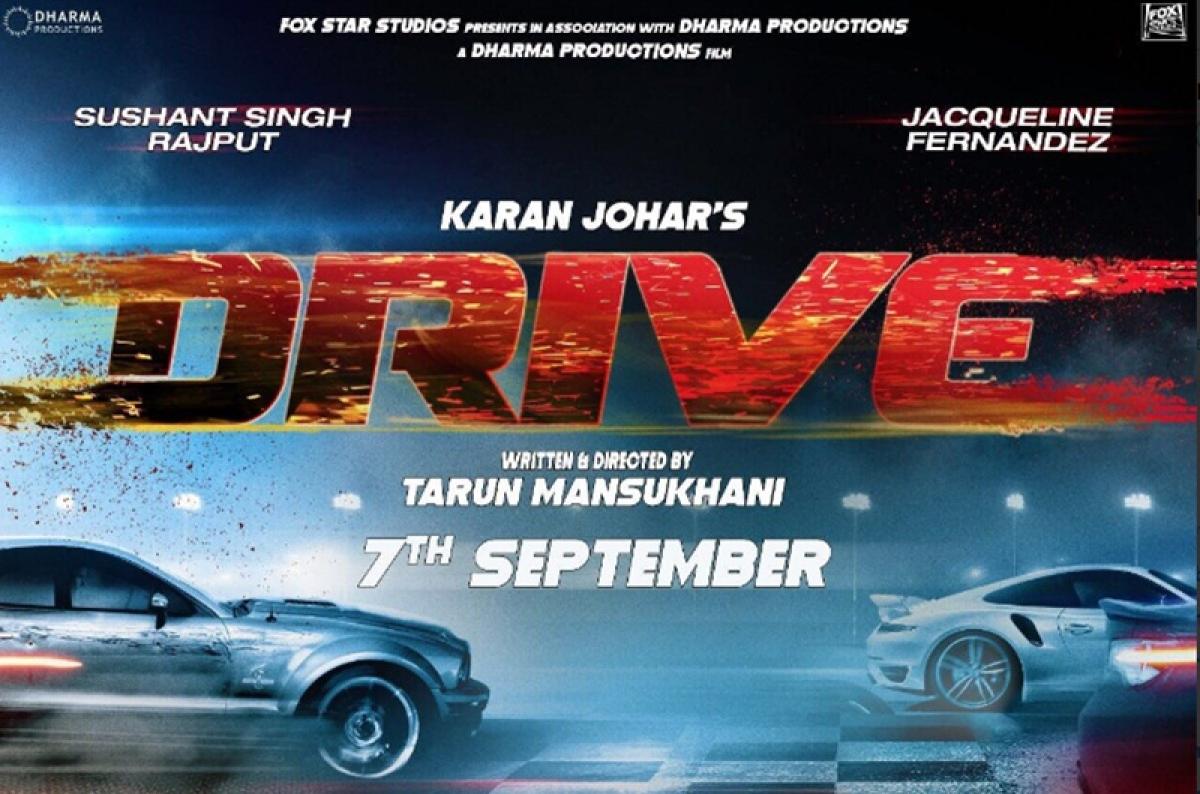 CONFIRMED: Sushant Singh Rajput – Jacqueline Fernandez starrer Drive to release on June 28, 2019