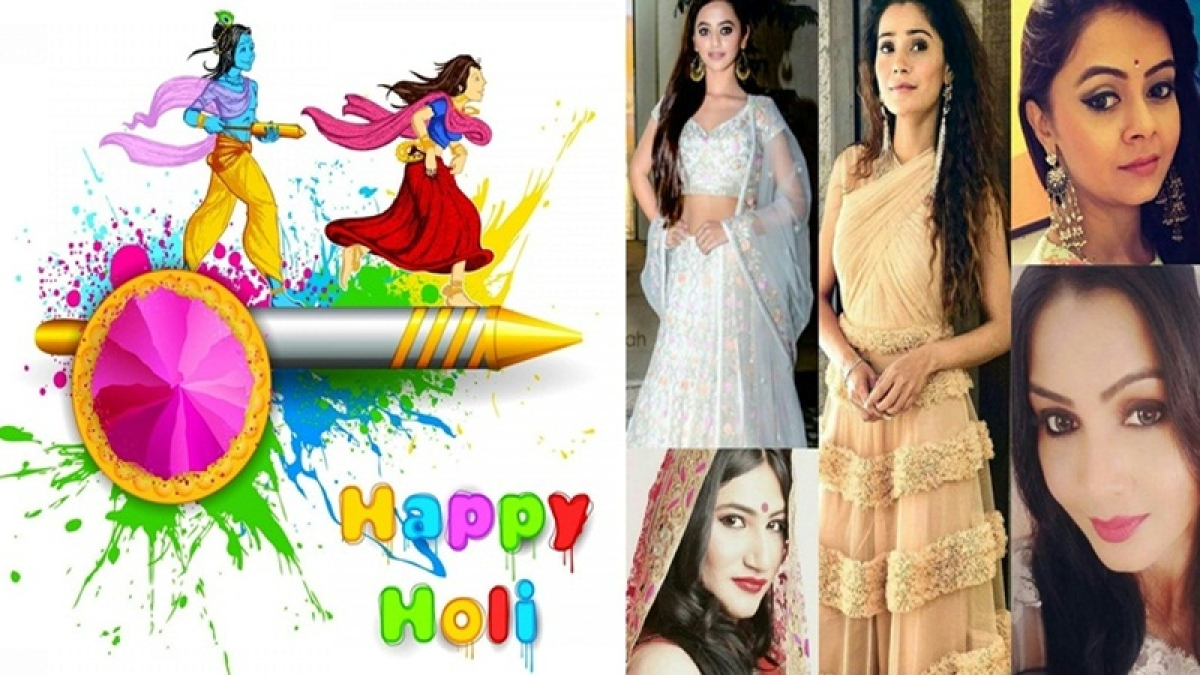 Holi 2018 Tips: TV actresses makes it easy to be in fashion