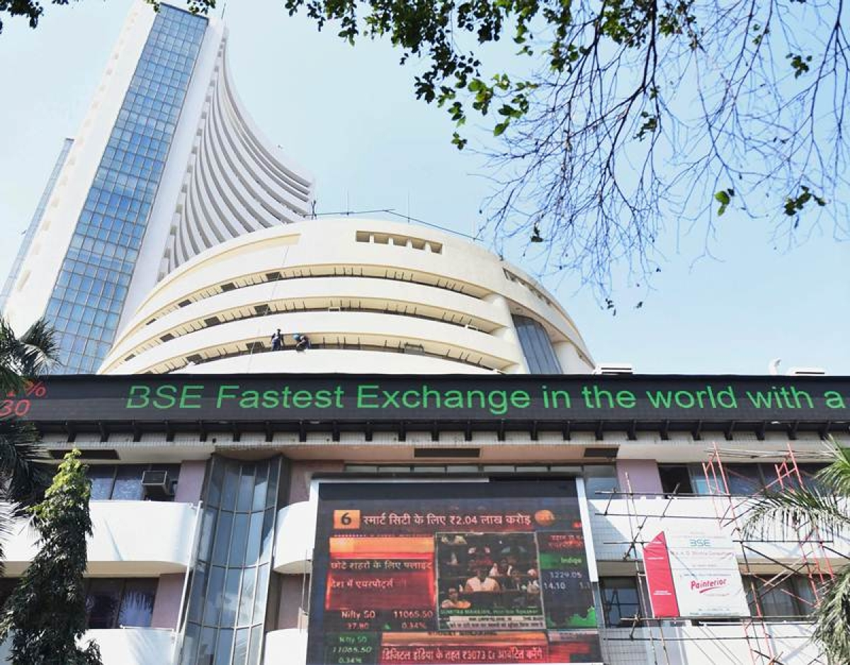 Sensex tanks 188 points to end below 35k-mark