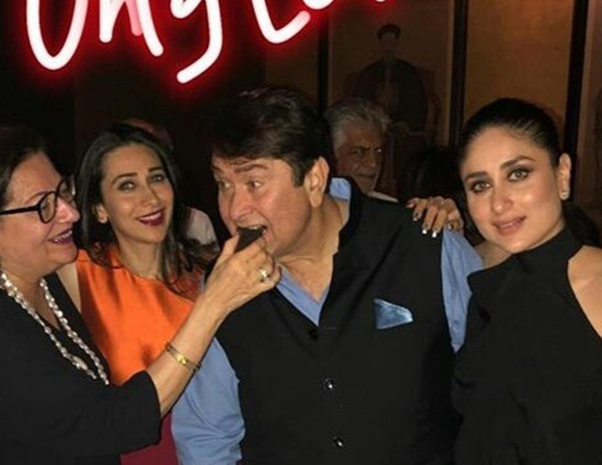In pictures: Karisma and Kareena host birthday bash for dad Randhir Kapoor