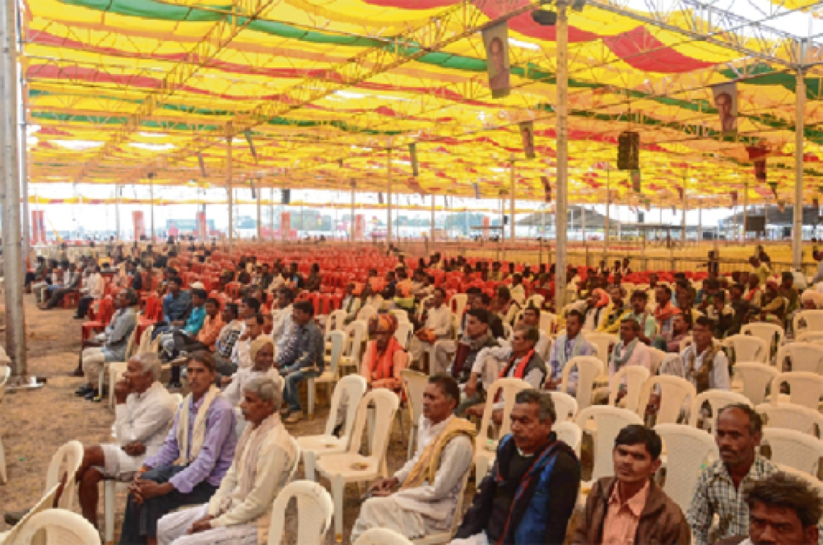 Angry farmers, vacant chairs: Govt's Kisan Convention comes a cropper