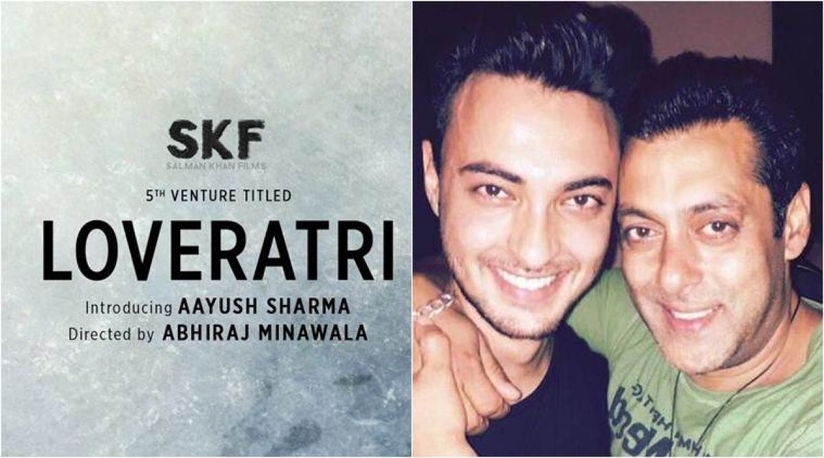 Salman Khan's brother-in-law Aayush Sharma's debut film 'Loveratri' to release on October 5
