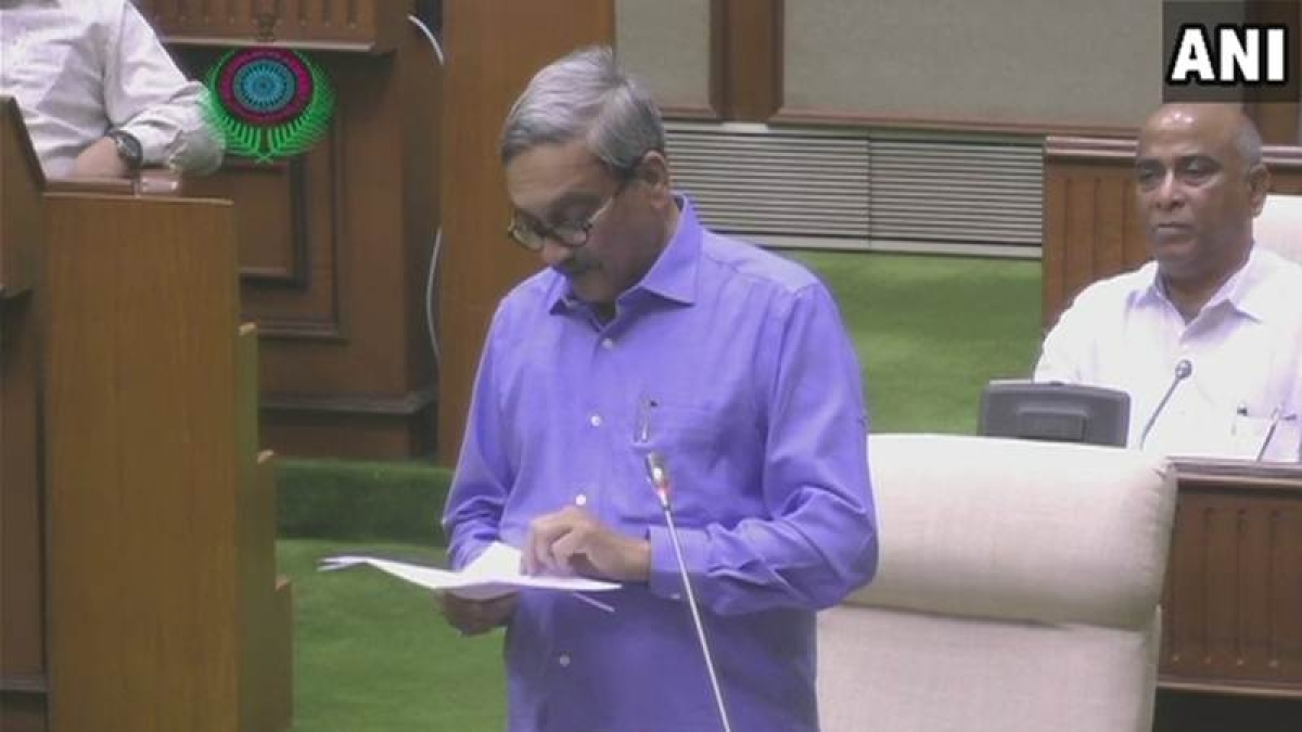 Goa Budget 2018: CM Manohar Parrikar presents Rs 17,123 crore budget