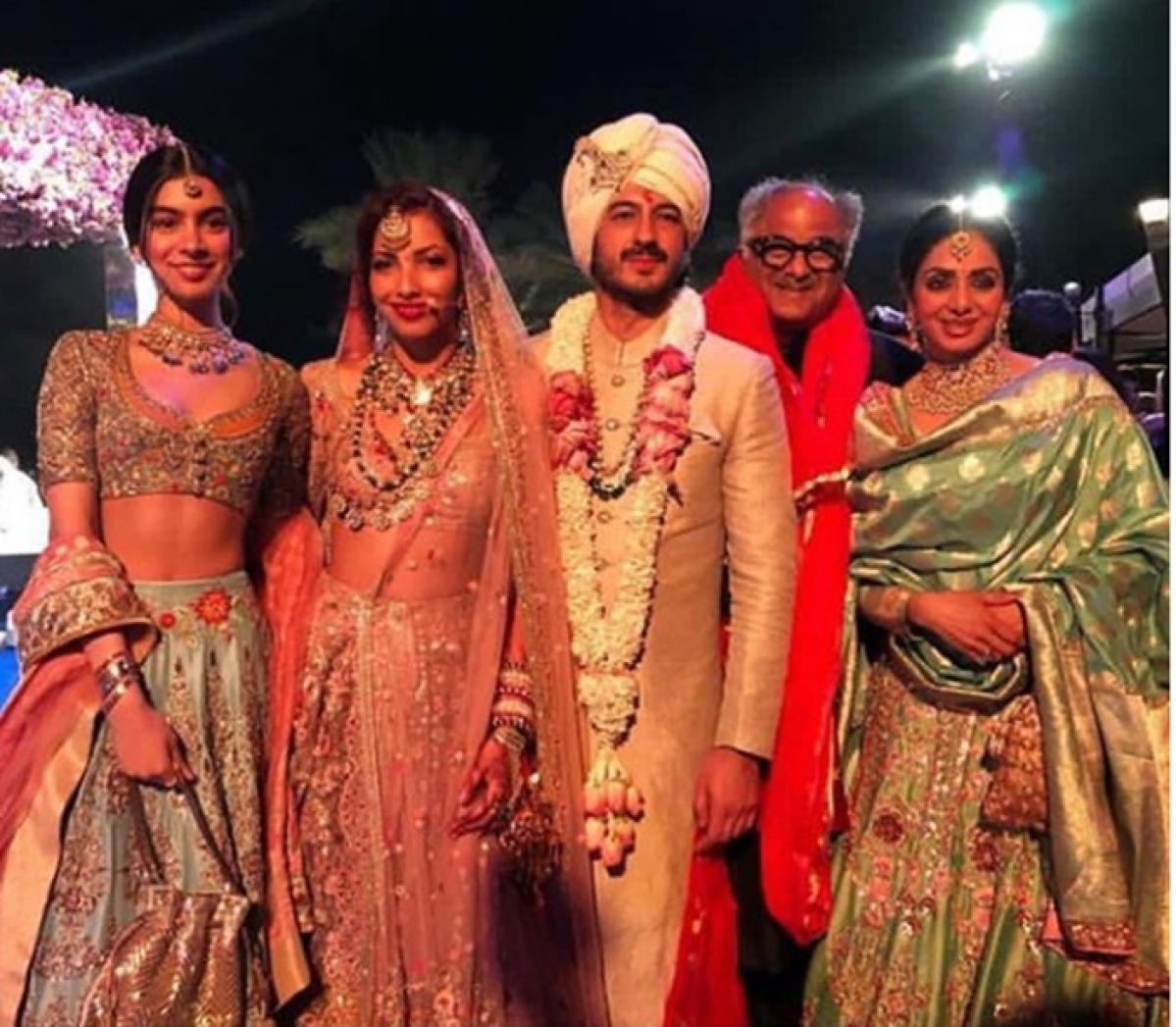 Inside Pictures: Mohit Marwah marries Antara Motiwala; Sonam, Sanaya look elegant; Arjun, Anil the dancing stars