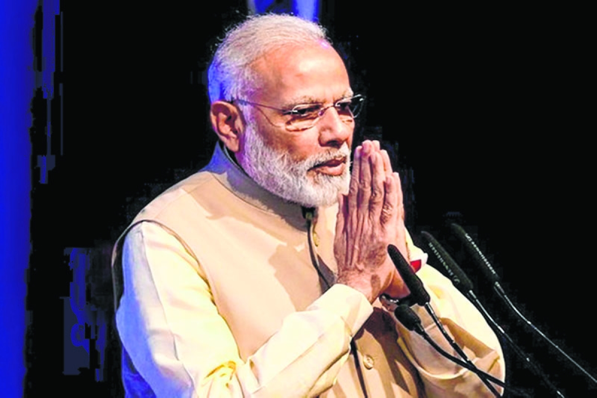 I dream of New India where women contribute to country's growth: PM