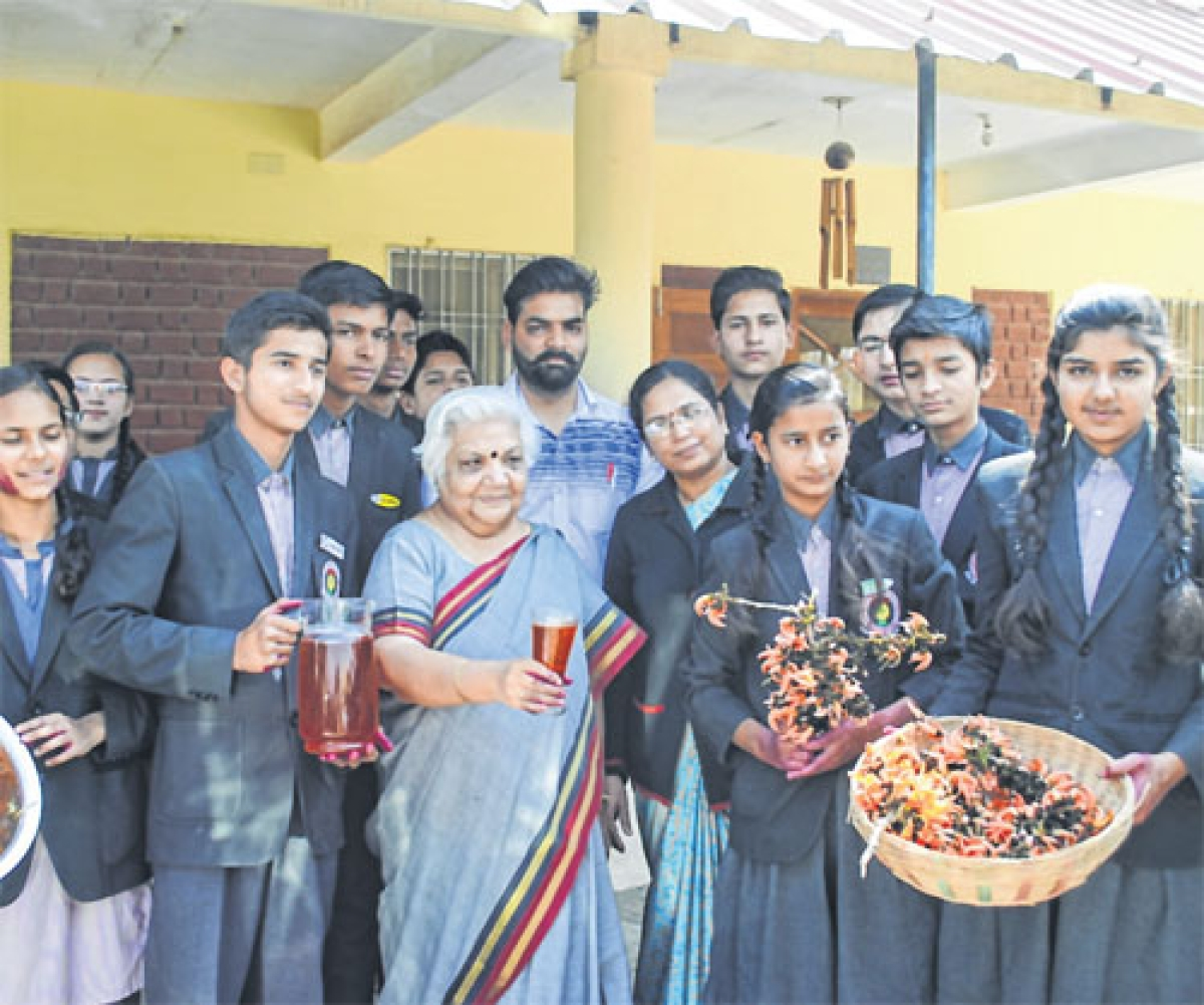Indore: Natural colours training workshop inaugurated