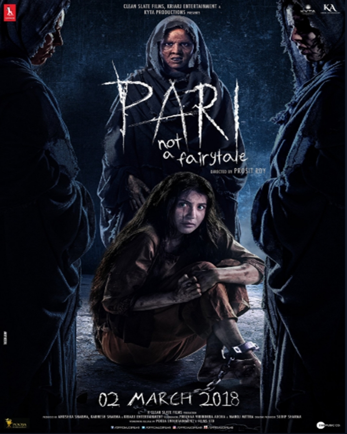 Pari new poster: Anushka Sharma is surrounded by demons