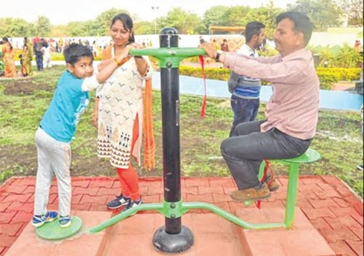Ujjain: Park with gym, acupressure track and play zone inaugurated