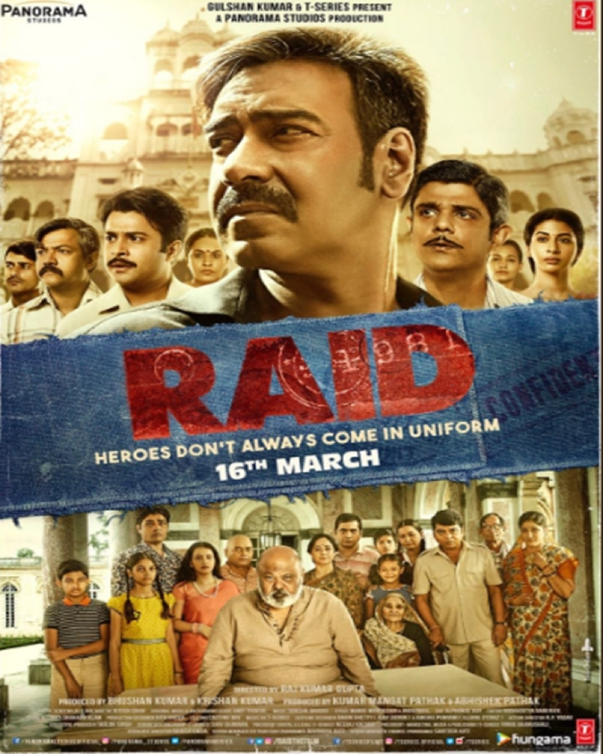 Raid new poster: Ajay Devgn and his team are all set for a mission