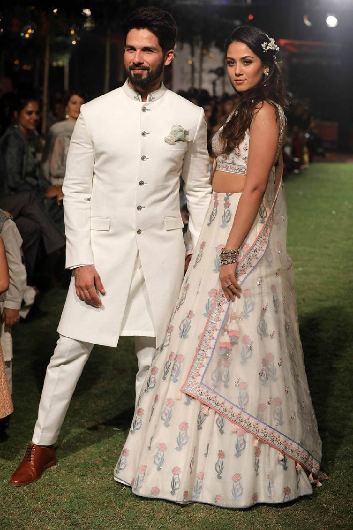 Lakme Fashion Week 2018: Shahid-Mira walk the ramp as bride and groom for Anita Dongre