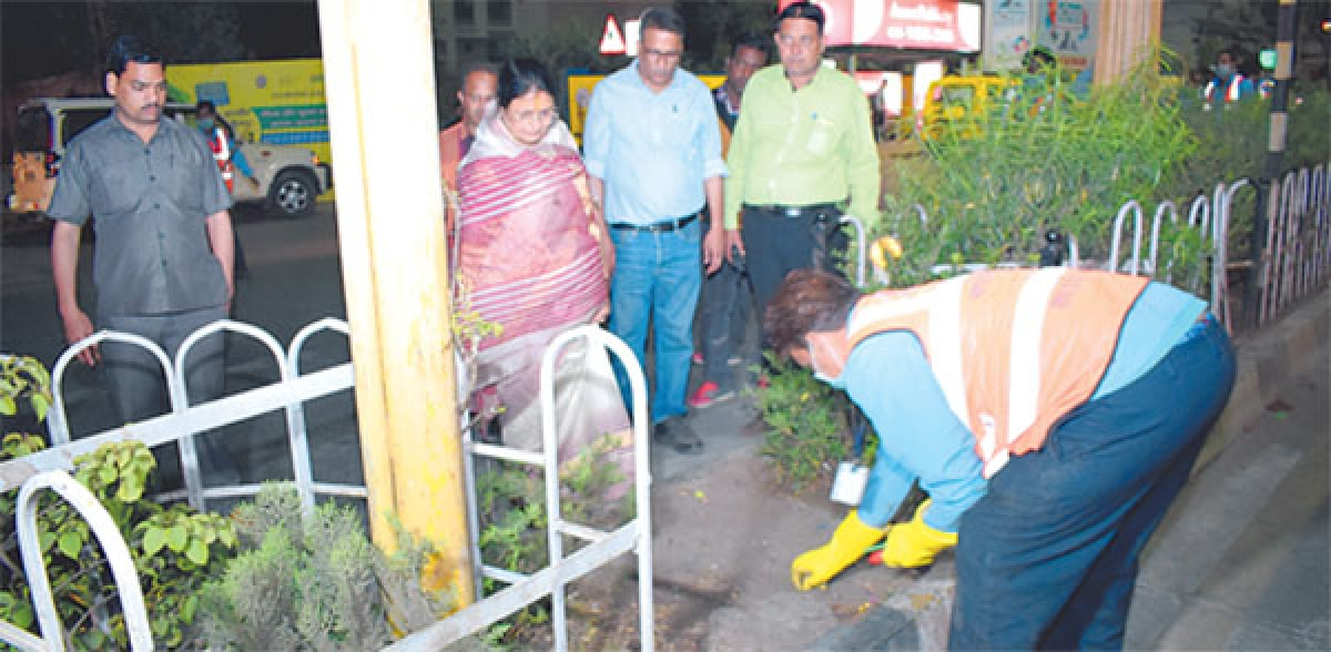 Swachh Survey: Central team checks situation on ground in Indore