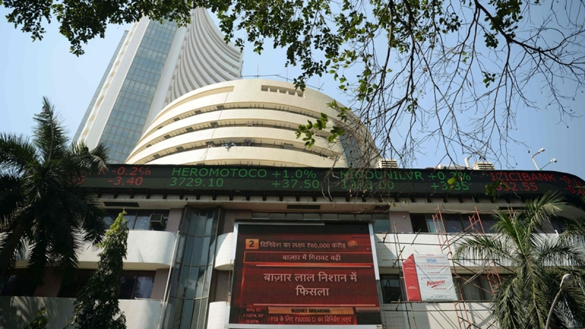 Sensex rallies over 250 points on global cues