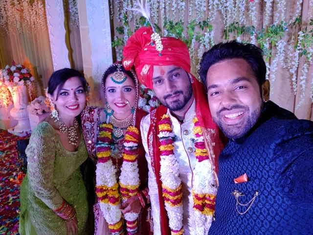 In Pictures: Mohammad Nazim, Saurabh Pandey and wife Zara