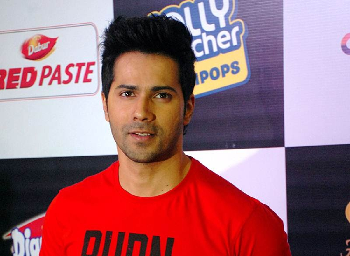 Varun Dhawan says he tries to have a good mix of pot-boilers and content-driven films