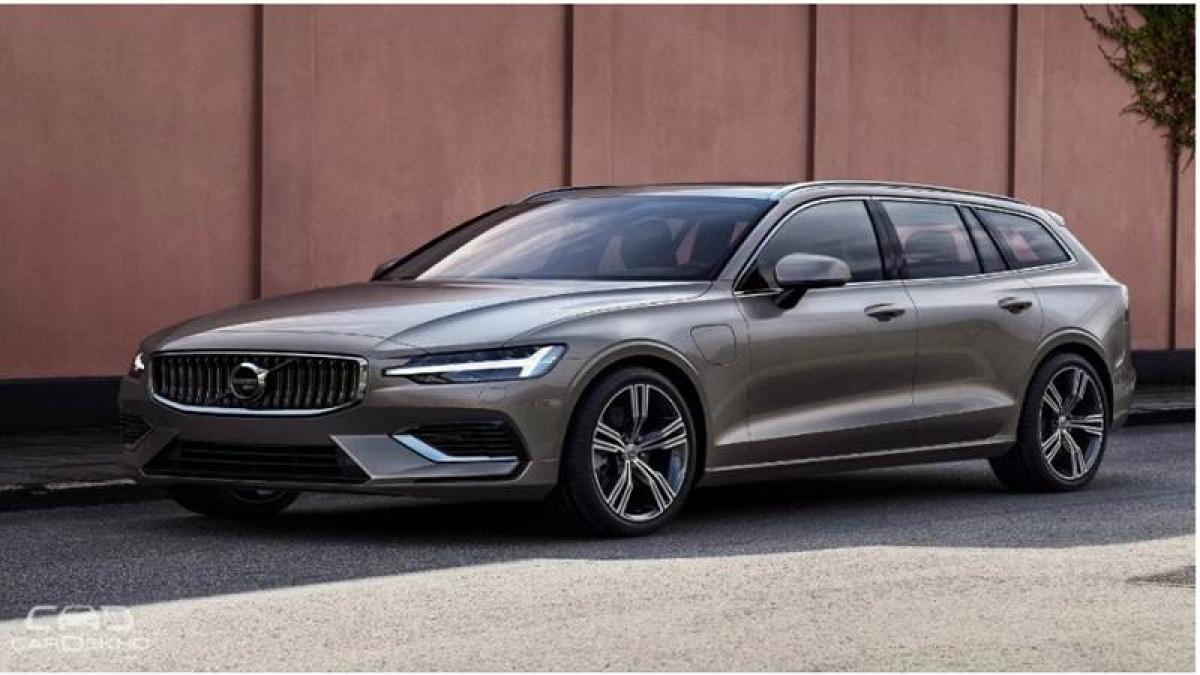 2019 Volvo V60 Previews New India-Bound S60 Sedan