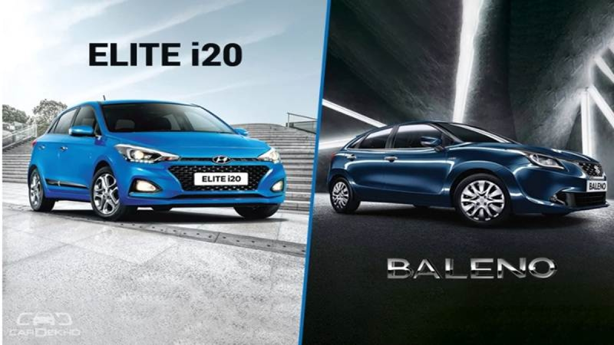 Hyundai Elite i20 2018 vs Maruti Baleno – Specs Compared