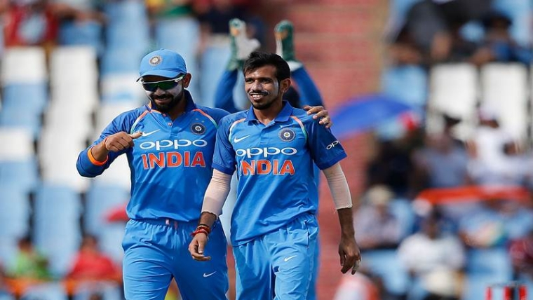 Yuzvendra Chahal: Ever since being picked over Ravichandran Ashwin, Chahal has not looked back. He bamboozled South Africa in South Africa, and although he couldn't repeat his feat in England, Chahal would be keen to make amends at the World Cup. Apart from his variations, his knack of keeping this tight also works in his favour. AFP PHOTO / MARCO LONGARI