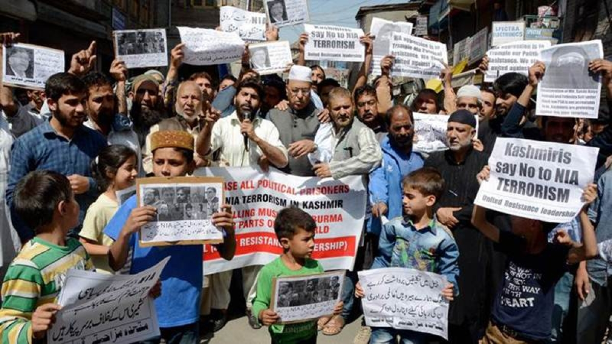 Restrictions in Kashmir to prevent separatist-called protests