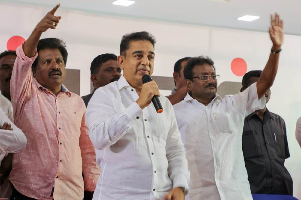 Kamal Haasan stokes controversy, says India's first terrorist was Hindu