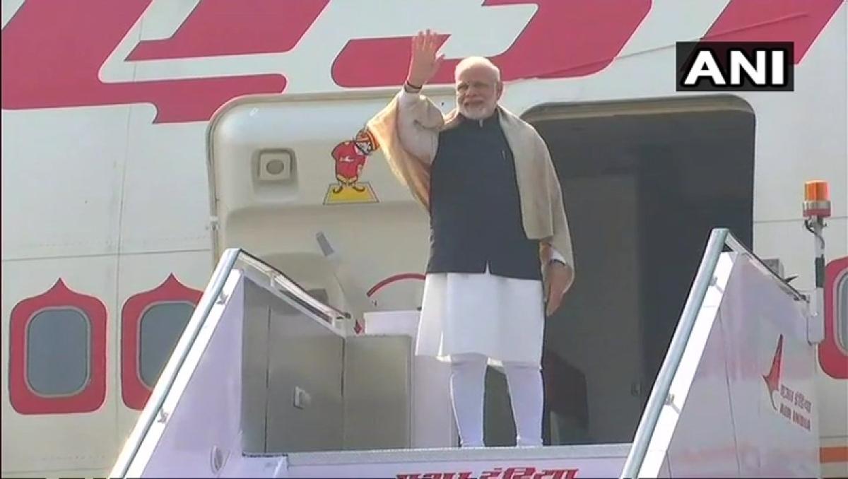 PM Narendra Modi leaves for Palestine, West Asia tour