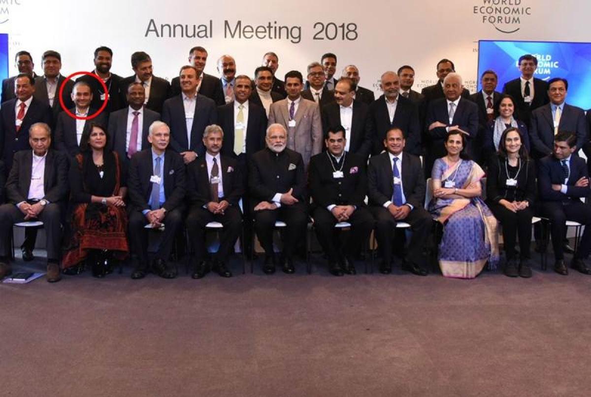PNB scam:  It was 'impromptu', says MEA of Davos photo featuring Nirav Modi
