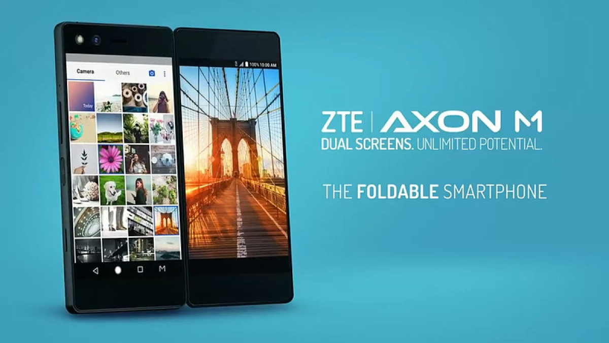 ZTE unveils foldable, double-screen smartphone in Spain