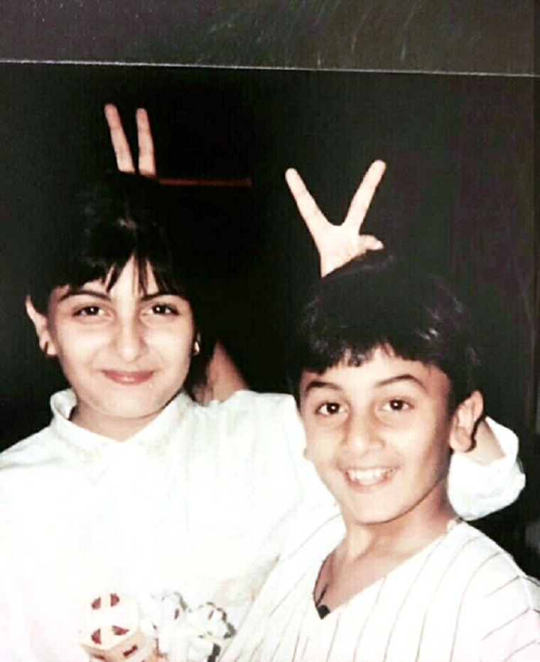 Throwback Thursday: Neetu Kapoor shares goofy toddler picture of Ranbir Kapoor and Riddhima Kapoor