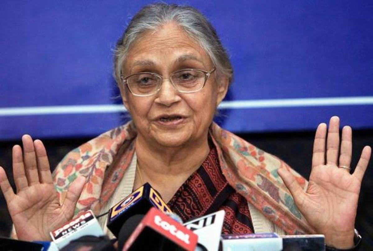 Rahul Gandhi appoints Sheila Dikshit as new Delhi Congress chief
