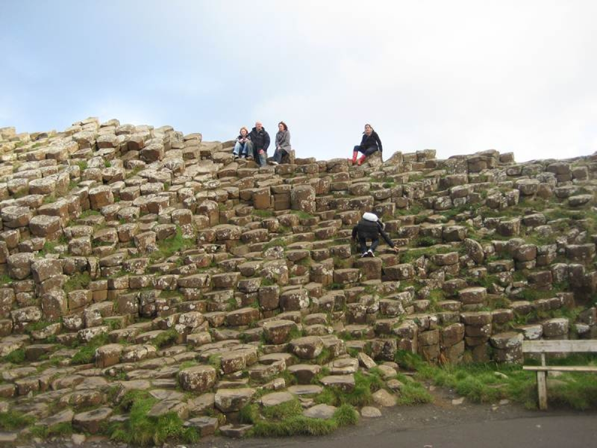 Ancient stones at Giants Causeway