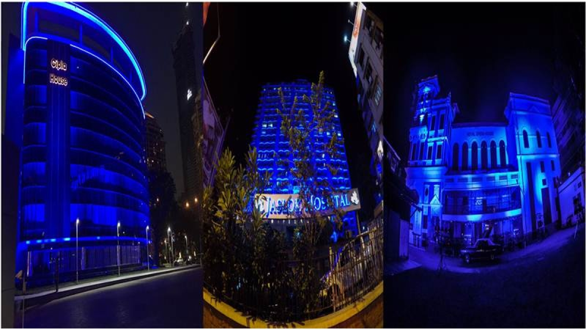 Hues of blue will dominate the Mumbai skyline on the occasion of World Autism Day