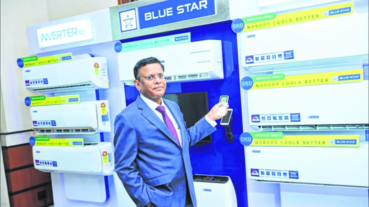 B Thiagarajan, Managing Director of Blue Star.